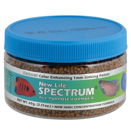 New Life Spectrum All-Purpose Formula 1 mm Sinking Pellets