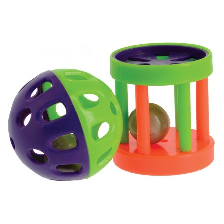 Penn Plax Lattice Ball and Drum