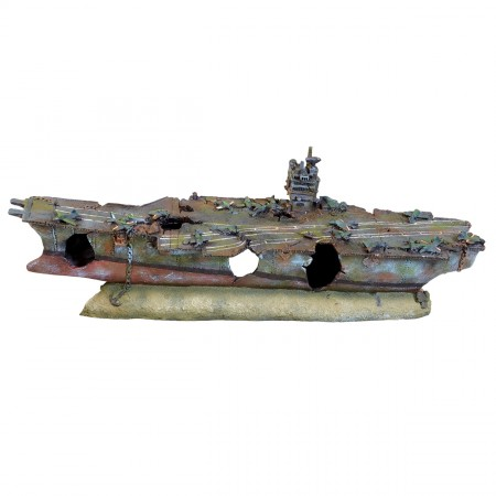Underwater Treasures Royal Aircraft Carrier - X-Large