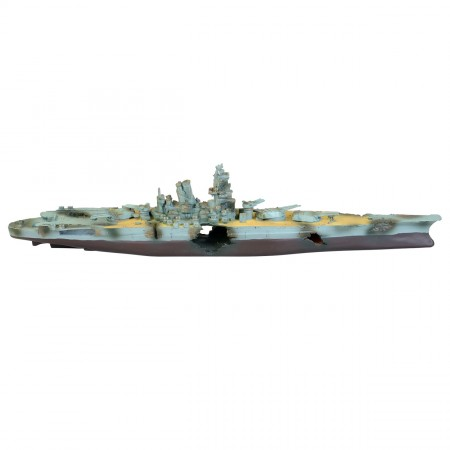Underwater Treasures Navy Battleship
