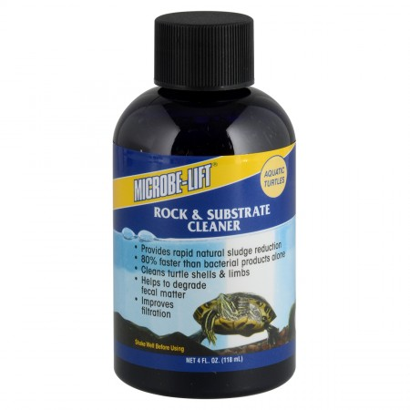 Microbe-Lift Aquatic Turtle Rock & Substrate Cleaner - 4 fl oz