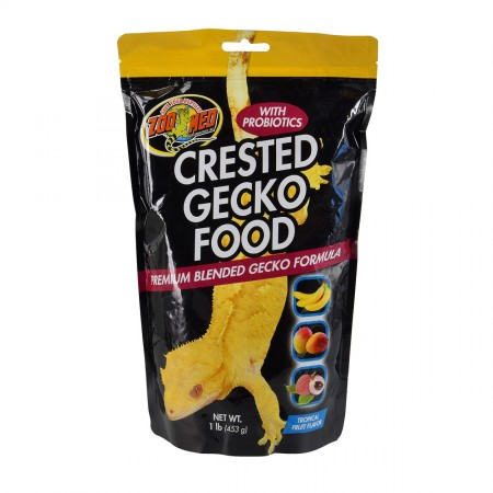 Zoo Med Crested Gecko Food - Tropical Fruit - 1 lb