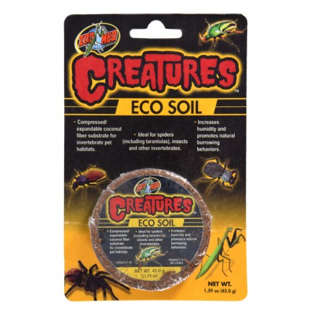 Zoo Med Creatures Eco Soil - 1.59 oz