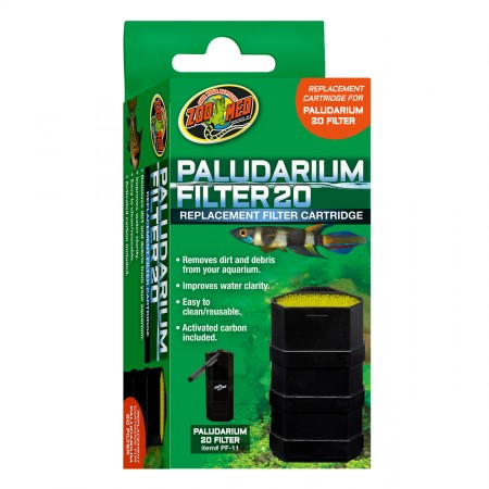 Zoo Med Replacement Cartridge for Paludarium Filter - 20