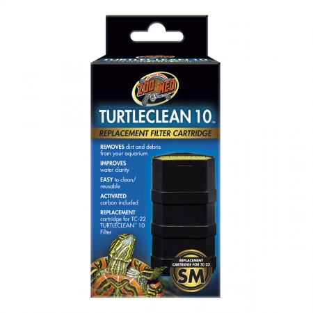 Zoo Med Replacement Cartridge for Turtleclean Deluxe Turtle Filter - 10