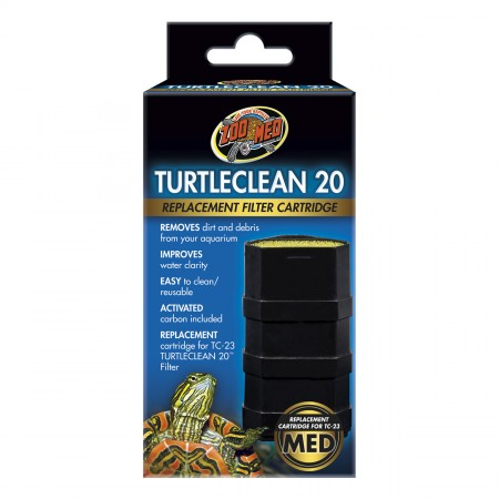 Zoo Med Replacement Cartridge for Turtleclean Deluxe Turtle Filter - 20
