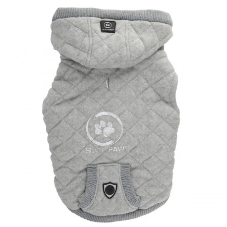 Protect Me Alert Series Quilted Hoodies with Pouch
