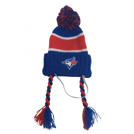 Protect Me Alert Series Blue Jays Knitted Hats