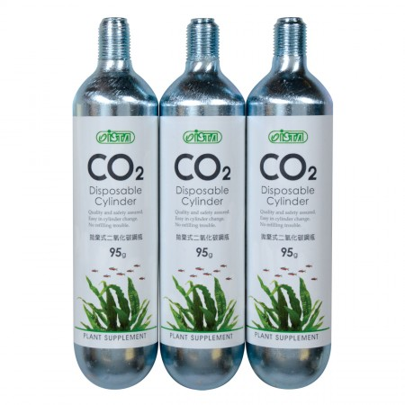 Ista Disposable CO2 Cylinder - 3 pk