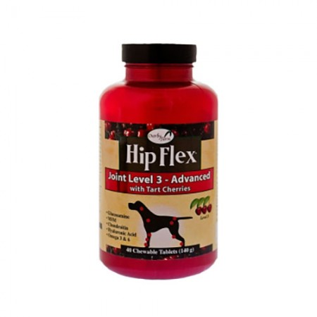 NaturVet Overby Farm Hip Flex Joint Level 3 - Advanced - 40 Tabs