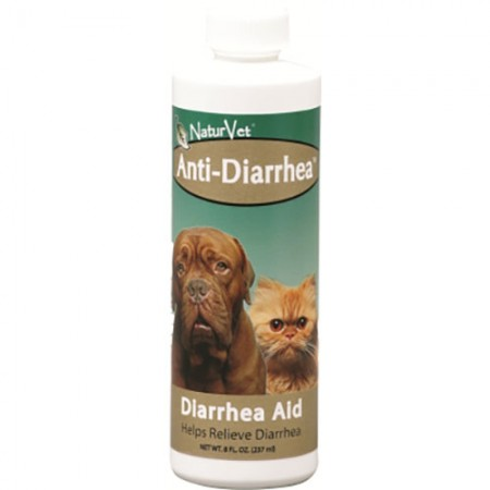 NaturVet Anti-Diarrhea for Dogs & Cats - 8 fl oz