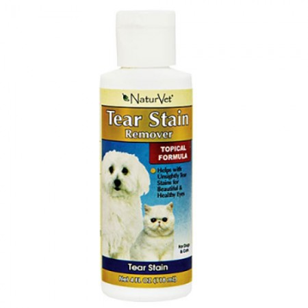 NaturVet Tear Stain Topical Remover - 4 fl oz