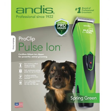 Andis ProClip Pulse Ion Adjustable Blade Clippers