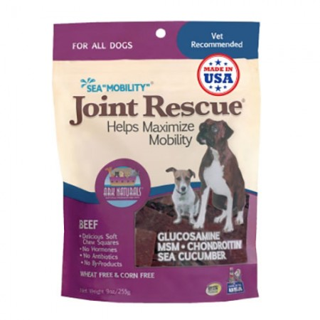 Ark Naturals Sea Mobility Joint Rescue Jerky Treats - Beef - 9 oz