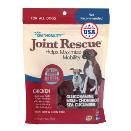 Ark Naturals Sea Mobility Joint Rescue Jerky Treats - Chicken - 9 oz