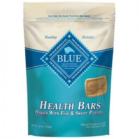 Blue Buffalo Health Bars - Fish & Sweet Potato - 16 oz
