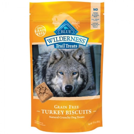 Blue Buffalo Wilderness Trail Treats - Turkey Biscuits - 10 oz