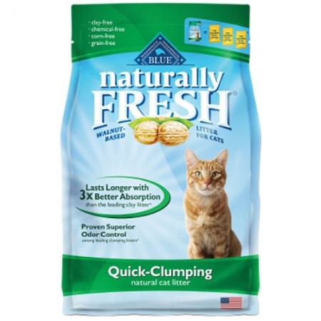 Blue Buffalo Naturally Fresh - Quick-Clumping Litter - 6 lb