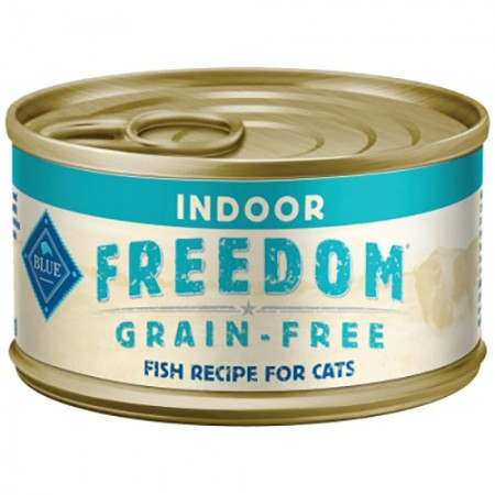 Blue Buffalo Freedom Grain-Free Fish Recipe for Indoor Adult Cats