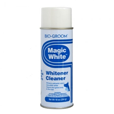 Bio-Groom Magic White Spray-On Whitener/Cleaner - 10 fl oz