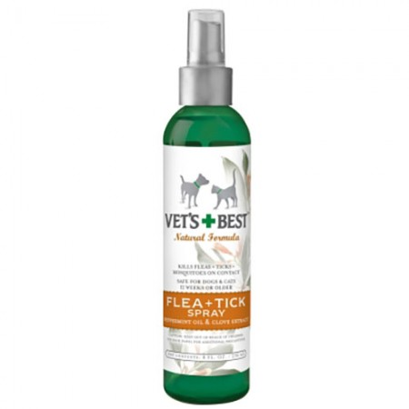 Vet's Best Natural Flea + Tick Spray - 8 fl oz