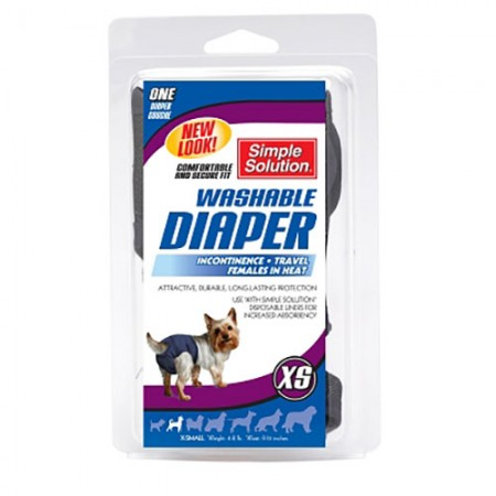 Simple Solution Washable Diaper - X-Small