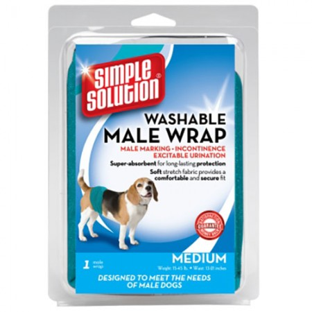 Simple Solution Washable Male Wrap - Medium