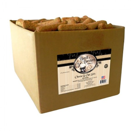 Stix Biscuits - Cheese & Oatmeal - 10 lb