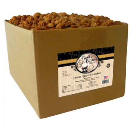 Crunchers Biscuits - Peanut Butter - 10 lb