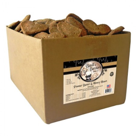 Heart Biscuits - Peanut Butter & Honey - 10 lb