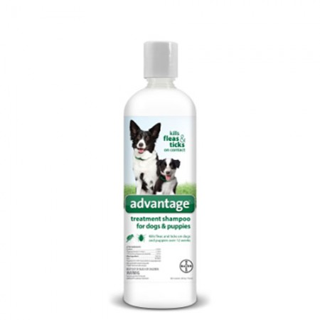 Bayer Inc. Advantage Flea and Tick Treatment Shampoo For Dogs