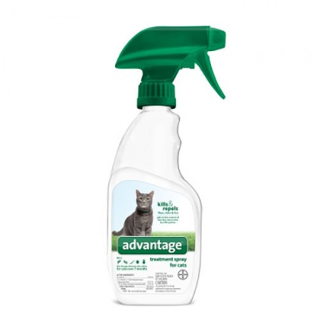 Bayer Inc. Advantage Flea and Tick Treatment Spray for Cats - 12 oz