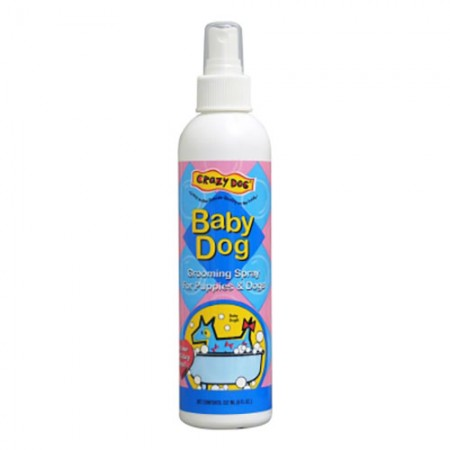 Crazy Dog Crazy Dog Grooming Spray Baby Powder - 8 fl oz