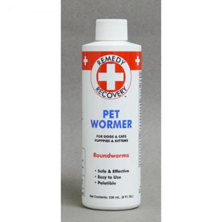 Remedy Recovery Pet Wormer - Roundworms - 8 fl oz