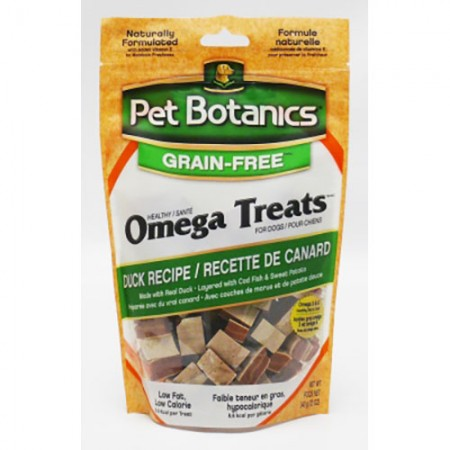 Pet Botanics Omega Treats Grain-Free Duck Recipe - 12 oz