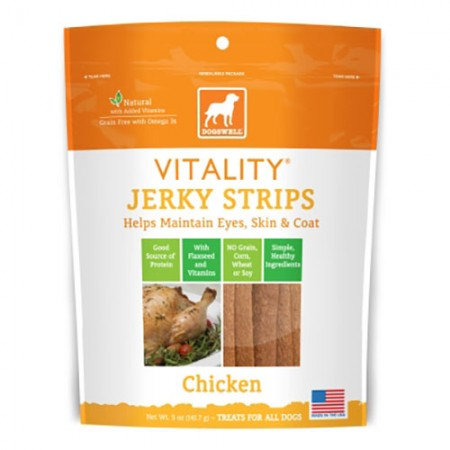 Dogswell Vitality Strips - Chicken - 5 oz