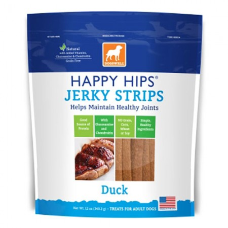 Dogswell Happy Hips Strips - Duck - 12 oz