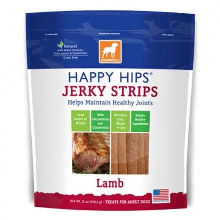 Dogswell Happy Hips Strips - Lamb - 12 oz