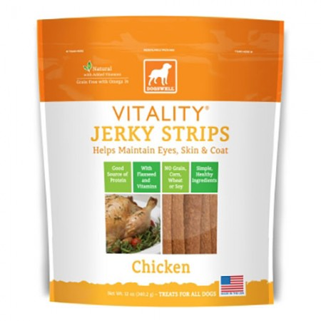 Dogswell Vitality Strips - Chicken - 12 oz