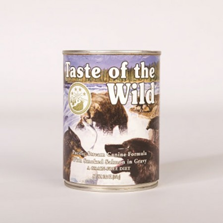 Taste of the Wild Pacific Stream Canine Formula with Salmon in Gravy - 13.2 oz -12 pk
