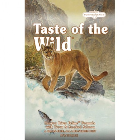 Taste of the Wild Canyon River Feline Formulas with Trout & Smoked Salmon