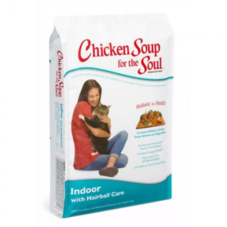 Chicken Soup for the Soul Indoor with Hairball Care Formulas
