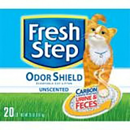 Fresh Step Odor Shield Scoopable Cat Litter - Unscented - 20 lb