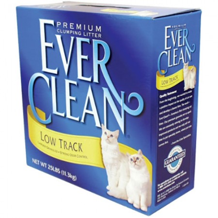 Ever Clean EverFresh with Activated Charcoal Premium Clumping Cat Litter - Unscented - 25 lb