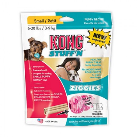 KONG Stuff 'N Ziggies for Puppies - Small - 7 oz