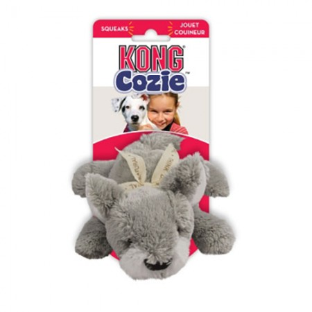 KONG Cozie - Buster the Wolf - Medium