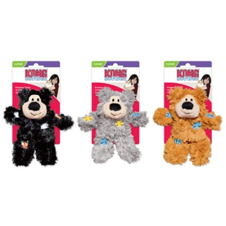 KONG Softie - Patchwork Bear