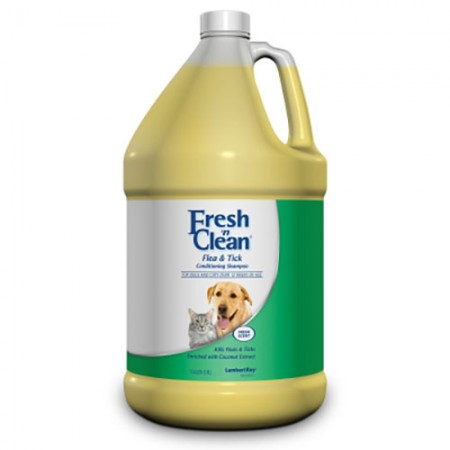 Lambert Kay Fresh 'n Clean Flea & Tick Conditioning Shampoos