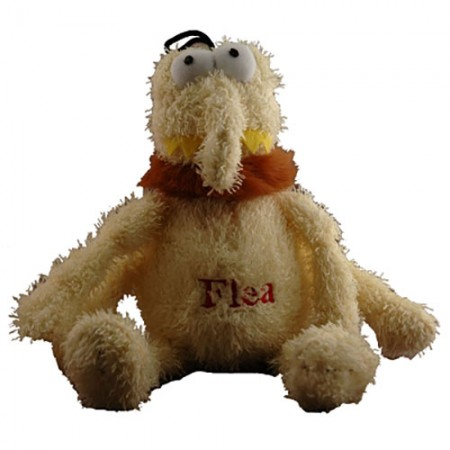 Multipet Flea Toy - Assorted Colors - 12""