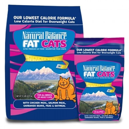 Natural Balance Fat Cats Low Calorie Formulas